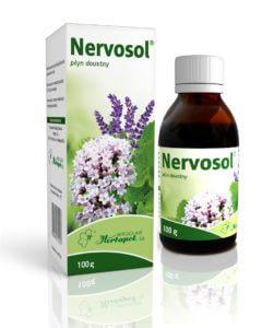 Nervosol 100g - kartonik i buteleczka