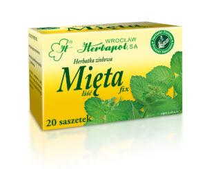 Herbatka ziołowa Mięta fix, Herbapol Wrocław