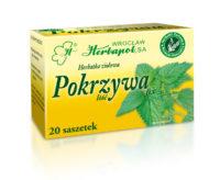 Herbatka ziołowa Pokrzywa fix, Herbapol Wrocław