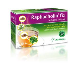 Raphacholin fix, herbatka ziołowa