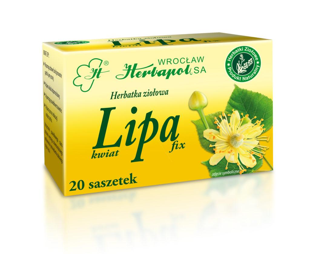 Herbatka ziołowa Lipa fix, Herbapol Wrocław