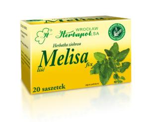 Herbatka ziołowa Melisa fix, Herbapol Wrocław