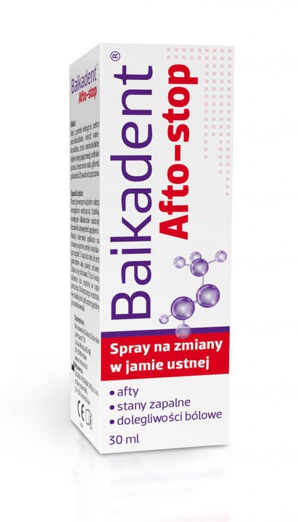 Baikadent Afto-stop spray